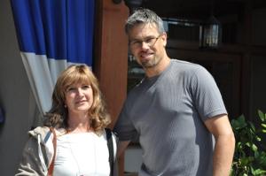 Dan Gerhartz y Carmen Alquezar