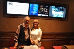 David Leffel y Carmen Alquezar