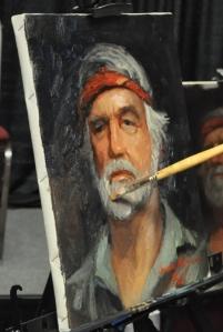 Retrato que realice en el workshop