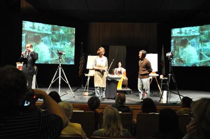 Demostración de Daniel Sprick y Quang Ho