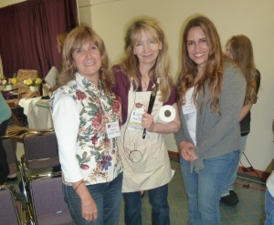 Carmen Alquezar, Nancy Guzik y Michelle Dunaway