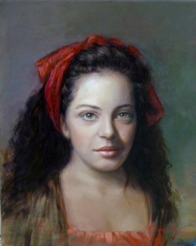 Retrato de Maria Oliva Farriol