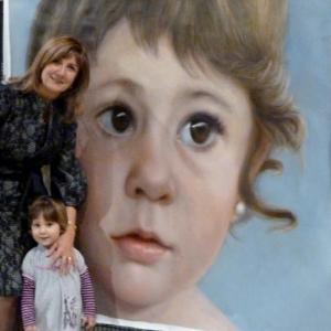 Desde enero, se puede ver el retrato de Ariadna, en el Museo MEAM de Barcelona